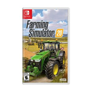 Jogo Farming Simulator 20 - Switch