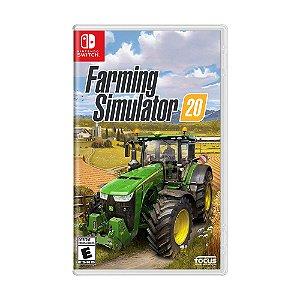 Jogo Farming Simulator 20 - Switch