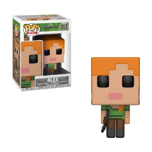 Boneco Alex 317 Minecraft - Funko Pop