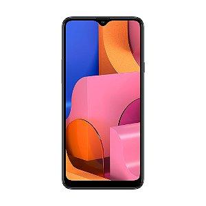 "Smartphone Samsung Galaxy A20s 32GB 26MP Tela 6,5"" Preto"
