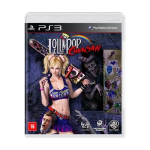 Jogo Lollipop Chainsaw - PS3