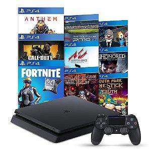 Console PlayStation 4 Pro 1TB + 8 Jogos - Sony