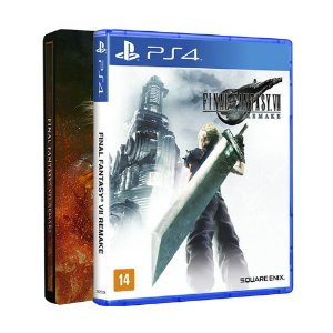 Jogo Final Fantasy VII Remake (Steelbook Edition) - PS4