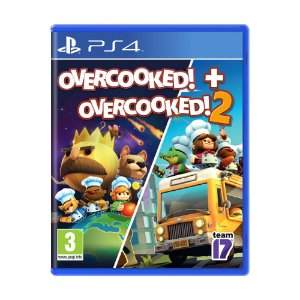 Jogo Overcooked! + Overcooked! 2 - PS4