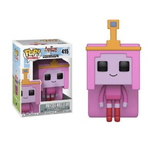 Boneco Princesa Jujuba 415 Adventure Time Minecraft - Funko Pop