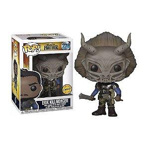 Boneco Erik Killmonger 278 Marvel Pantera Negra (Edição Limitada Chase) - Funko Pop!