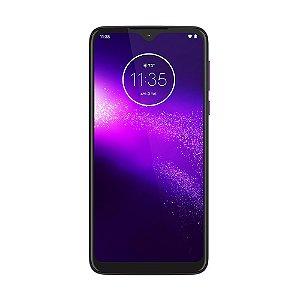 "Smartphone Motorola One Macro 64GB 17MP Tela 6,2"" Ultra Violet"