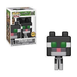 Boneco Tuxedo Cat 332 Minecraft (Edição Limitada Chase) - Funko Pop