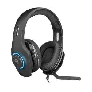 Headset Gamer Trust GXT 455 Torus RGB com fio - PC