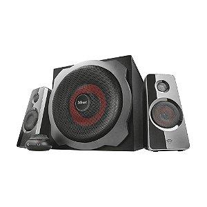 Caixa de Som Trust GXT 38 Tytan 2.1 Ultimate Bass 120W com fio