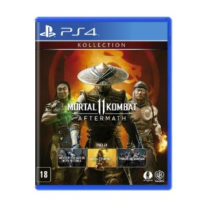 Jogo Mortal Kombat 11 (Aftermath Kollection) - PS4
