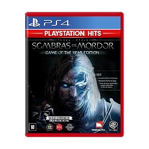 Jogo Terra-Média: Sombras de Mordor (GOTY) - PS4