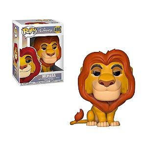 Boneco Mufasa 495 Disney - Funko Pop