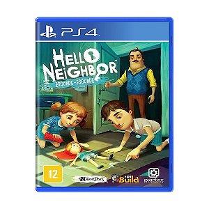 Jogo Hello Neighbor: Esconde-Esconde - PS4
