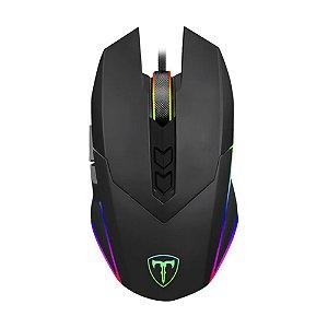 Mouse Gamer T-Dagger Lieutenant RGB 8000 DPI com fio