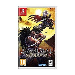 Jogo SAMURAI SHODOWN - Switch