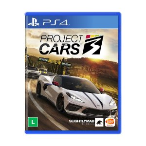 Jogo Project Cars 3 - PS4