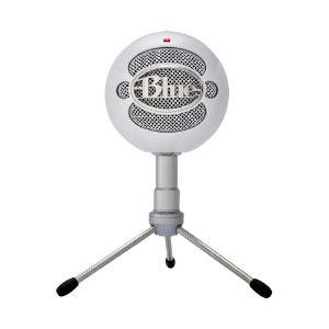 Microfone Condensador USB Blue Snowball iCE 988-000070 Branco - PC