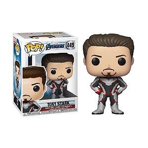 Boneco Tony Stark 449 Marvel Avengers - Funko Pop!