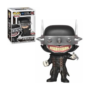 Boneco Batman Who Laughs 256 DC Super Heroes - Funko Pop!