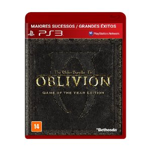 Jogo The Elder Scrolls IV: Oblivion (GOTY) - PS3
