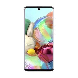 "Smartphone Samsung Galaxy A71 128GB 64MP Tela 6,7"" Preto"