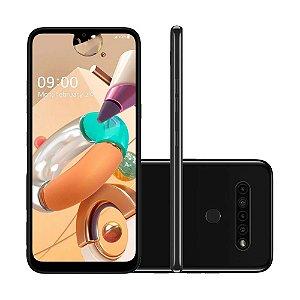 "Smartphone LG K41S 32GB 13MP Tela 6,55"" Preto"