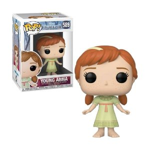 Boneco Young Anna 589 Disney Frozen 2 - Funko Pop!