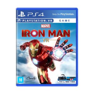 Jogo Marvel's Iron Man VR - PS4