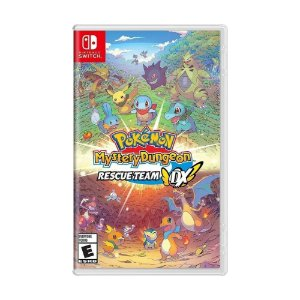 Jogo Pokémon Mystery Dungeon: Rescue Team DX - Switch