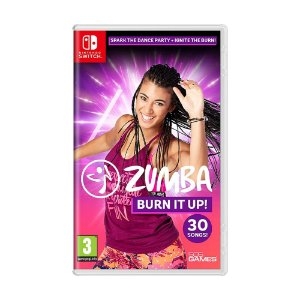 Jogo Zumba Burn it Up! - Switch