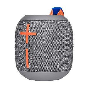 Caixa de Som Logitech Wonderboom 2 Crushed Ice Grey Bluetooth