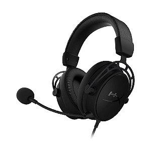 Headset Gamer HyperX Cloud Alpha S HX-HSCAS-BK/WW 7.1 Preto com fio - PC e PS4