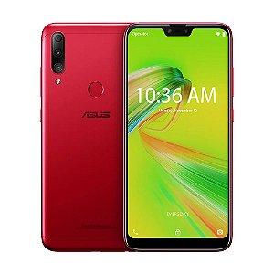 """Smartphone Asus Zenfone Max Shot 32GB 12MP Tela 6.26"""" Vermelho + Cartão de Memória"""
