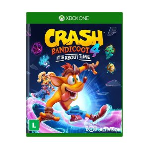 Jogo Crash Bandicoot 4: It's About Time - Xbox One