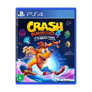 Jogo Crash Bandicoot 4: It's About Time - PS4