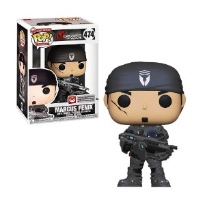 Boneco Marcus Fenix 474 Gears of War - Funko Pop!