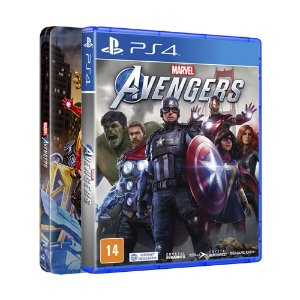 Jogo Marvel's Avengers (SteelBook Edition) - PS4