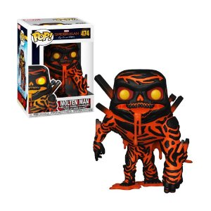 Boneco Molten Man 474 Spider-Man Far From Home - Funko Pop!