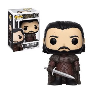 Boneco Jon Snow 49 Game of Thrones - Funko Pop!