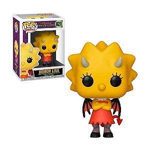 Boneco Demon Lisa 821 The Simpsons Threehouse of Horror - Funko Pop!