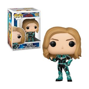 Boneco Vers 427 Captain Marvel - Funko Pop!