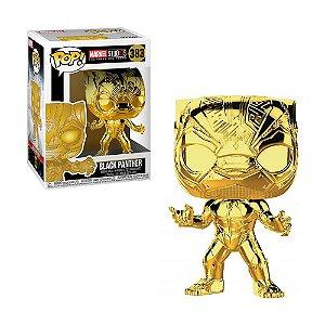Boneco Black Panther 383 Marvel Studios (Chrome Edition) - Funko Pop!