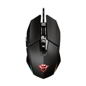 Mouse Gamer Trust Idon GXT 950 RGB 6000 DPI com fio
