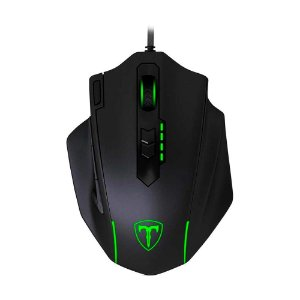 Mouse Gamer T-Dagger Major T-TGM303 RGB 8000 DPI com fio