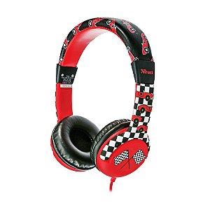 Headphone Trust Spila Kids Urban T20953 Vermelho com fio - PC e Mobile