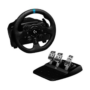 Volante Logitech G923 True Force - PS4, PS5 e PC