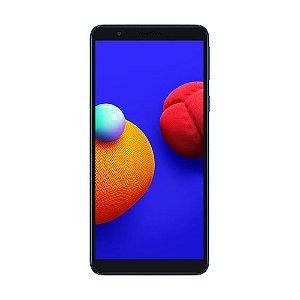 "Smartphone Samsung Galaxy A01 Core 32 GB 8MP Tela 5.3"" Azul"