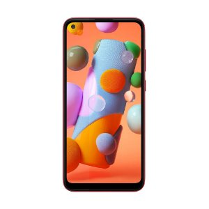 "Smartphone Samsung Galaxy A11 64GB 13MP Tela 6.4"" Vermelho"