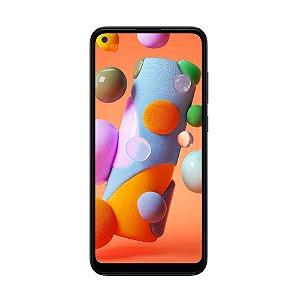 "Smartphone Samsung Galaxy A11 64GB 13MP Tela 6.4"" Preto"